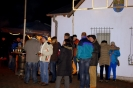 Erste �ffentliche Silvesterfeier auf der Backesmeile veranstaltet vom M�nnerstammtisch